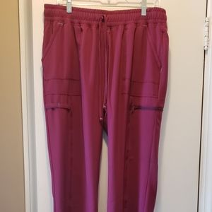 Scrubstar Large Burgundy Performance scrub pants